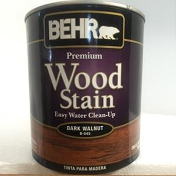 tinta madera wood stain nogal oscuro