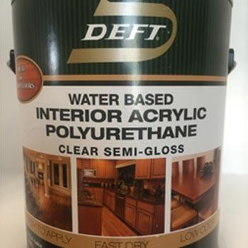madera barniz interior poliuretano DEFT
